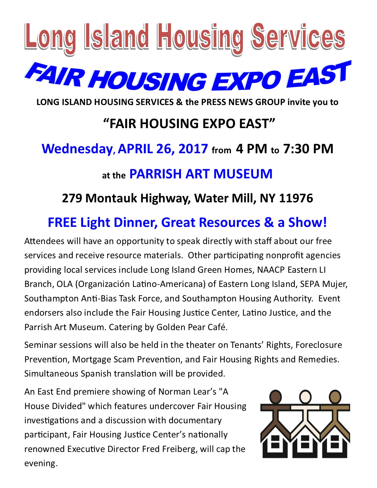 FAIR HOUSING EXPO EAST 4-26-17 flyer pdf