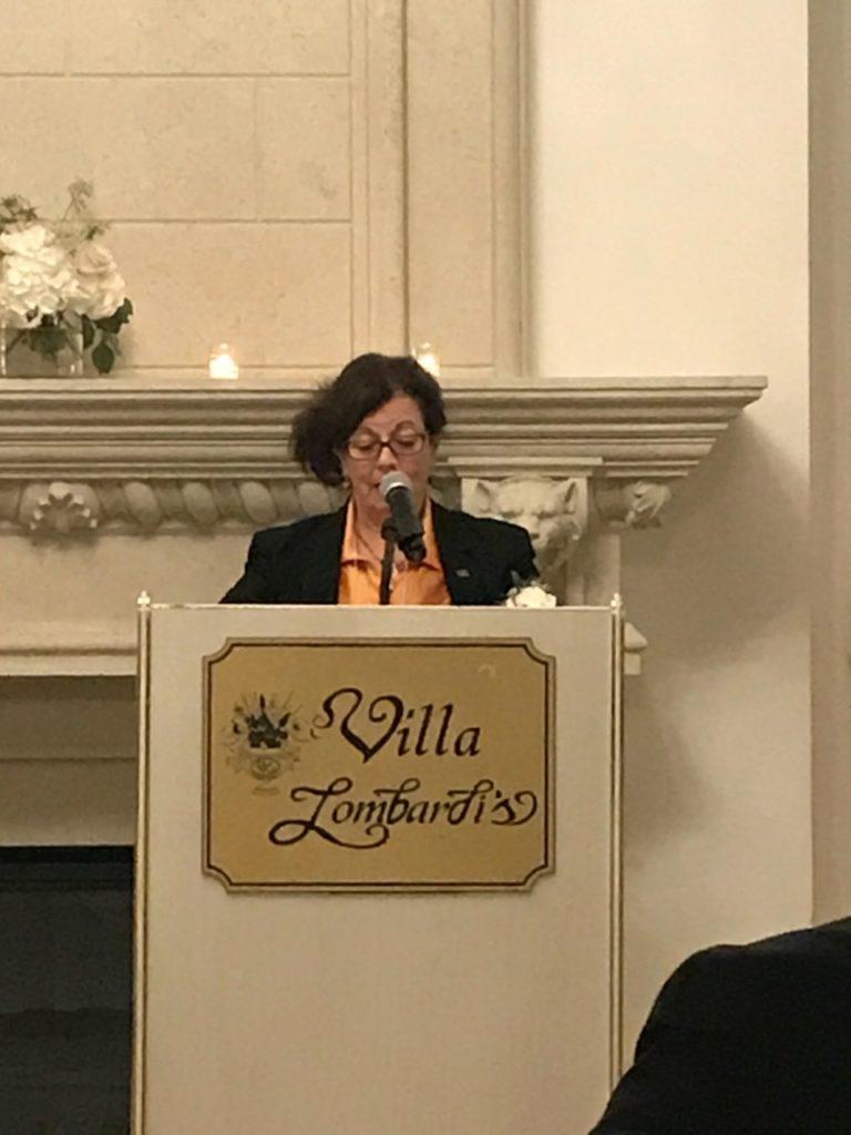LIHS Executive Director Emeritus Michelle Santantonio. Photo by Maria T. DeGennaro, Esq.