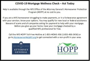 COVID-19 Mortgage Wellness Check