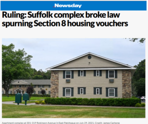 Newsday article on Greenbriar decision